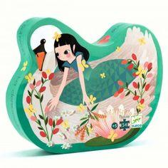 Une jolie boîte silhouettée pour jouer et aussi décorer la chambre des enfants.