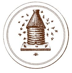 Vintage Graphic - French Beehive - The Graphics Fairy  We get stung so you don't have too.