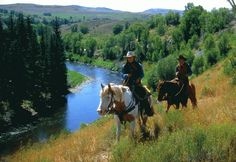 If I was a rider I would so do one if these trips.  Colorado Horseback Riding Trips - Horseback Riding in Colorado |