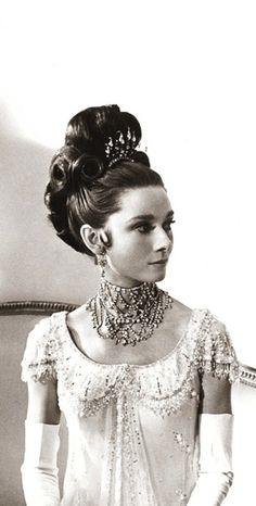 Audrey Hepburn, classic glamor.                              …