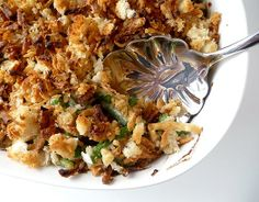 Green Bean Casserole | via Brown Eyed Baker