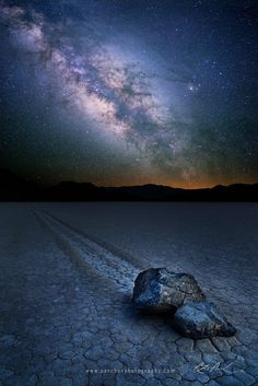 Photo Sailing Stones of Death Valley by Rick Parchen on 500px