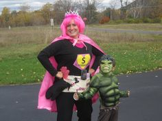 Kindermama Chronicles: Heroing Up for Halloween - The creation of Supermama