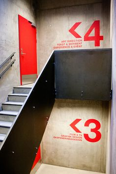 Navigation / Wayfinding Westerdals on Behance — Designspiration