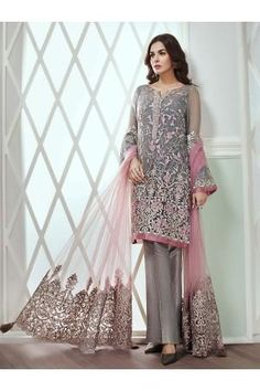 Jazmin Light Party Wear And Formal Wear at Retail and whole sale prices at Pakistan's Biggest Replica Online Store Pakistani Wedding Dresses Online, Pakistani Party Wear Dresses, Indian Gowns Dresses, Party Wear Lehenga, Pakistani Dress Design, Pakistani Outfits, Indian Outfits, Dress Party, Party Dresses