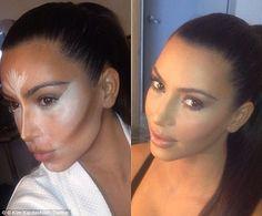 Inside Kim Kardashian's make-up bag