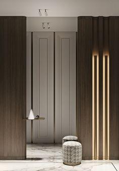 Foyer Design, Hall Design, House Design, Interior Walls, Luxury Interior, Interior And Exterior, Flat Interior, Interior Design Games, Interior Design Living Room