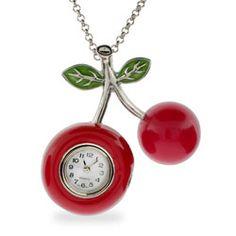 Cherry Pendant watch<3<3
