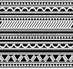 maori-polynesian-style-bracelet-tattoo_99302261.jpg (450×422)