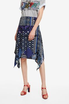 Ted, Paisley, Casual Look, High Low, Summer Dresses, Elegant, Products, Fashion, Vestidos