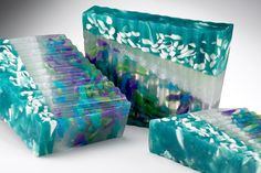 Aniselle Sea Glass Soap Beautiful homemade soap. We are starting with goates milk soap. Get ready summer soft skin.