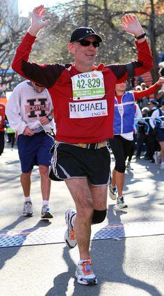 ING NYC Marathon 2010 Finish line.