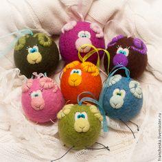 Новогодние овцы - шар,новогодние игрушки,новогодний подарок,новогодний шар