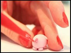◕‿◕ Kawaii Friday 16- Pig! Tutorial in Polymer Clay