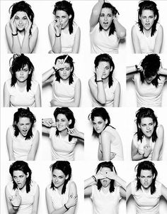 "A rare glimpse of KStew showing ""emotion"" ;)"