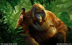 King Luis and Mowgli from The Jungle Book 2016 movie :]