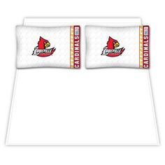Louisville Cardinals Queen Size Sheet Set