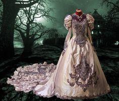 Wedding Dress Idea (Northern Lights)