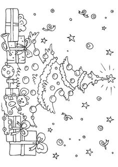 Here are the Interesting Christmas Tree Coloring Page. This post about Interesting Christmas Tree Coloring Page was posted under the Coloring Pages . Christmas Tree Coloring Page, Christmas Coloring Sheets, Christmas Tree Drawing, Printable Christmas Coloring Pages, Christmas Doodles, Christmas Tree With Gifts, Christmas Colors, Printable Coloring, Kids Christmas