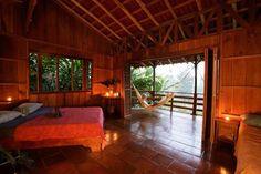 Geniet van jullie huwelijksreis in de eco lodge Selva Bananito in Costa Rica