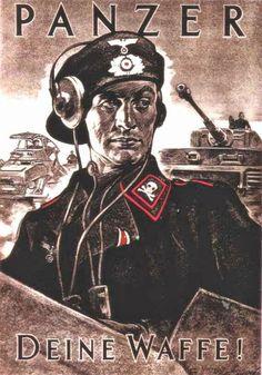 German propaganda poster during WW2
