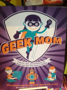 Take a look at this Geek Mom Paperback by Random House on today! Fish Mobile, Baby Fish, Random House, Homeschool, Geek Stuff, Activities, Mom, Reading, Books