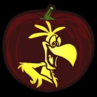 Sonny Cocoa Puffs - Pumpkin Stencil