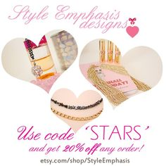 ❤ 20$ OFF any order (over $20) https://www.etsy.com/shop/StyleEmphasis ❤