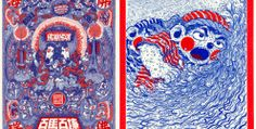 Shanghai-based illustrator, Wang2Mu, created these intricate illustrations using only red and blue ballpoint pens. Armed with the skill of a true artist and the patience of a zen master, he sets out creating these astonishing works without any digital retouching. His consistent use of red and blue pens give his artworks their own identity and […]