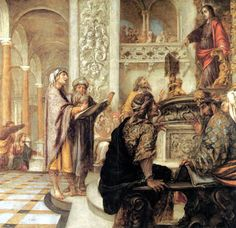 Juan de Valdés Leal 1622-1690 Jésus contestant avec les médecins