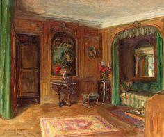 Walter Gay - Edith Wharton's Bedroom at Pavillon Colombe