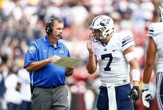 Sitake 'disappointed' after third straight BYU football loss - The Daily Universe Byu Sports, Byu Football, Disappointment, Third, Universe, Cosmos, Space, The Universe