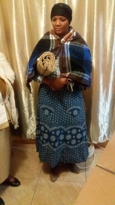 Makoti Zulu Traditional Attire, African Traditional Dresses, Traditional Outfits, African Print Dresses, African Dress, African Clothes, African Women, African Fashion, Xhosa Attire