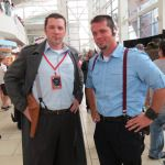 Doctor Who Cosplay Captain Jack Harkness X2 - Denver Comic Con 2014