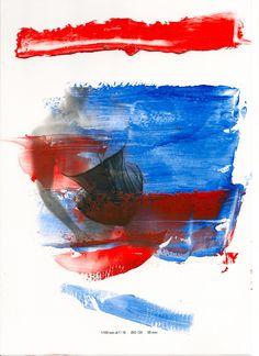 Acrylic paint on photograph. www.charlottemoss.co.uk