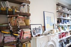 Bohemian Homes: Books by Colour