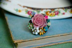 Sweet Caroline Ring by tiedupmemories, via Flickr