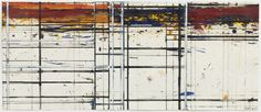 Brice Marden Masking Drawing No. 20, 1983-1986 Oil, ink, and gouache on paper 14 x 32 3/4 inches (35.6 x 83.2 cm) © 2015 Brice Marden / Artists Rights Society (ARS), New York via Selections from The Kramarsky Collection » David Zwirner