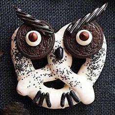 Haunting Hooted Owl Pretzels