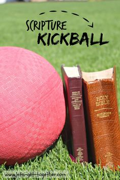 Scripture Kickball from Let's Get Together - great last #youthactivity or #fhe before summer ends! #lds www.lets-get-together.com