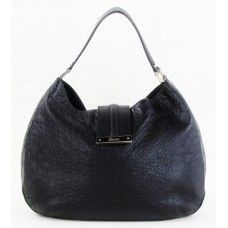 #Gucci Black Vincennes Leather New Ladies Web Large Hobo Bag