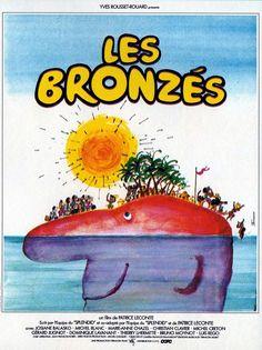 """471. """"Les bronzés"""" de Patrice Leconte avec Gérard Jugnot, Michel Blanc, Thierry…"""