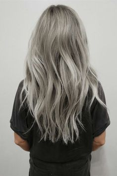 10 Cool Haircolors To Try This Summer Silver Hair Color - Live Haarfarbe Lila