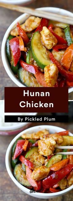 7. Hunan Chicken #greatist http://greatist.com/eat/easy-stir-fry-recipes-to-make-during-the-week