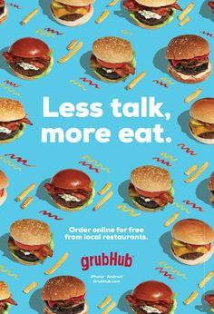 GrubHub OOH on Behance