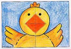 How to make: the chicks pop-up card - www.pop-ups.net