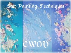 35 Painting Technique Ideas - Painting Challenge - Messy Little Monster Painting Activities, Music Activities, Salt Painting, Colored Chalk, Process Art, Toddler Fun, Preschool Art, Little Monsters, Easy Paintings