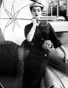 Fashion photo by John French, 1950s