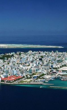 Male - Capital of the Maldive Islands.