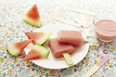 Glace à la pastèque (Lait maternelle et pas de miel pour 6 mois)